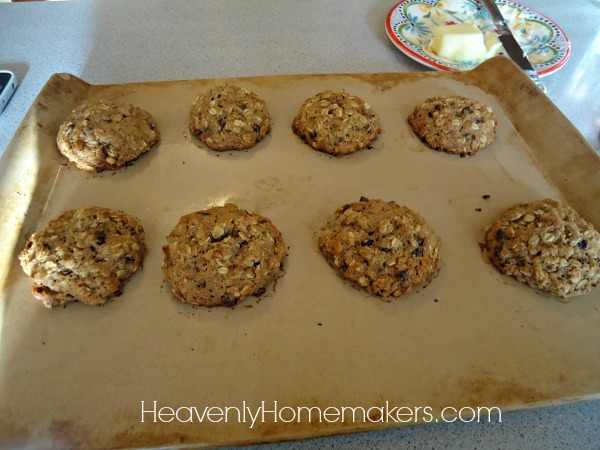 Freezer Breakfast Cookies4