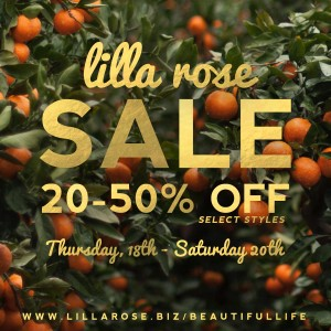 Lilla Rose Aug sale