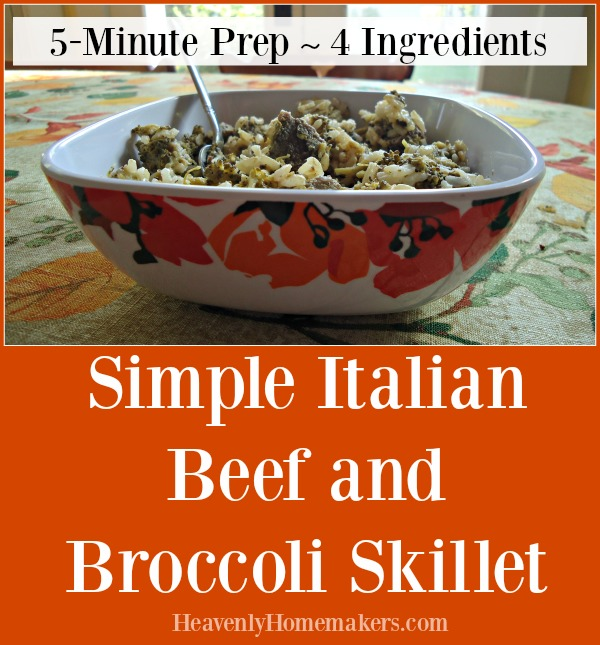 simple-italian-beef-and-broccoli-skillet