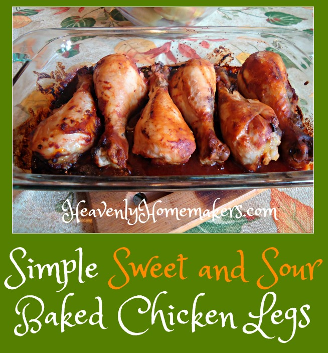simple-sweet-and-sour-baked-chicken-legs
