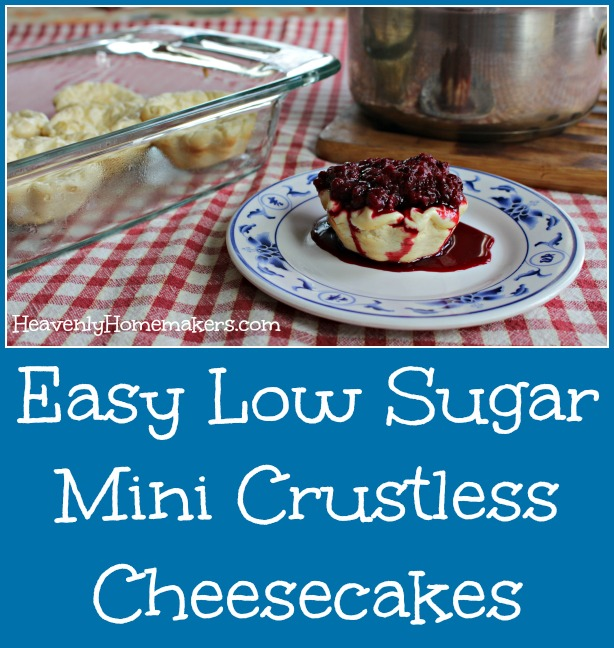 easy-low-sugar-mini-crustless-cheesecakes