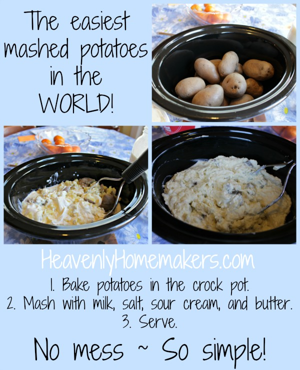 How to make the easiest mashed potatoes in the world