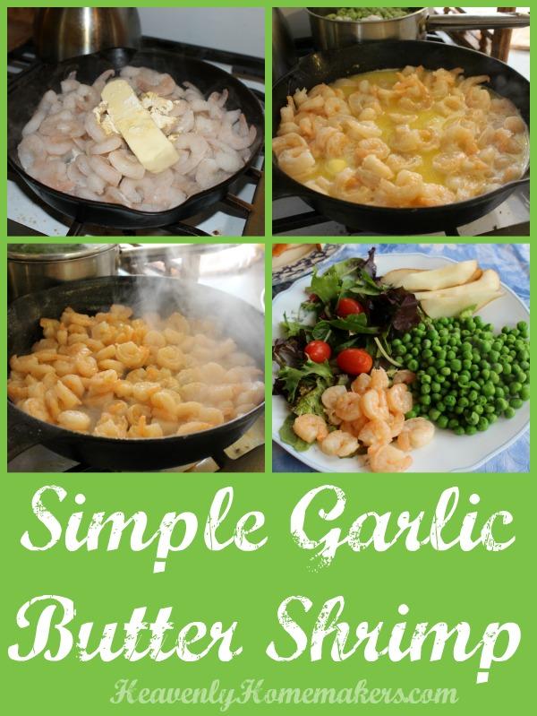 Simple Garlic Butter Shrimp