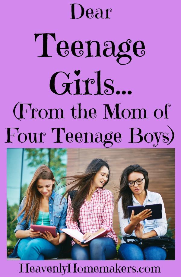 Dear Teenage Girls