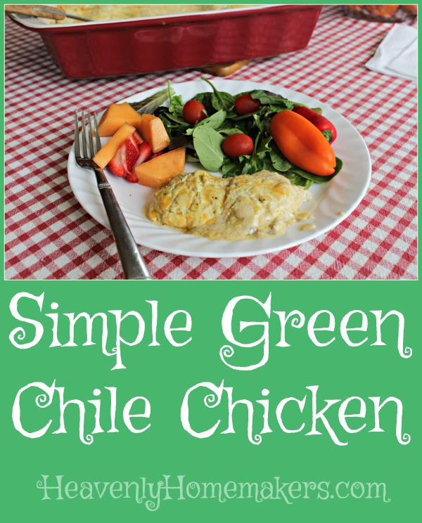 Simple Green Chile Chicken
