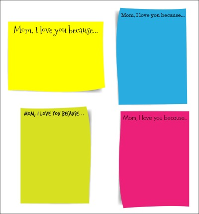 Why I Love Mom Printable
