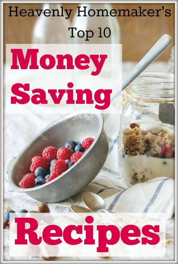 Top 10 Money Saving Recipes