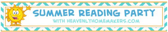 summer reading party header