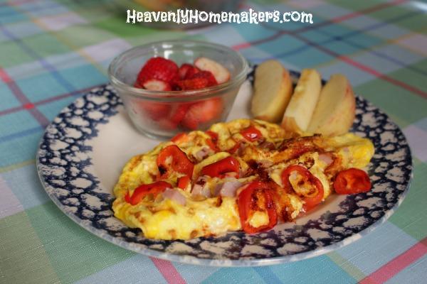 waffle omlet
