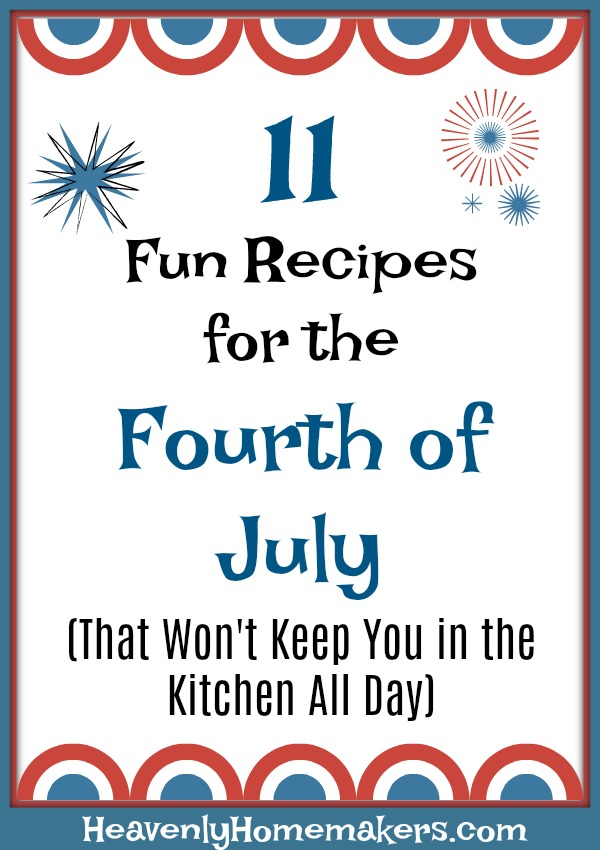 11 Fun Recipes for the Fourth of July