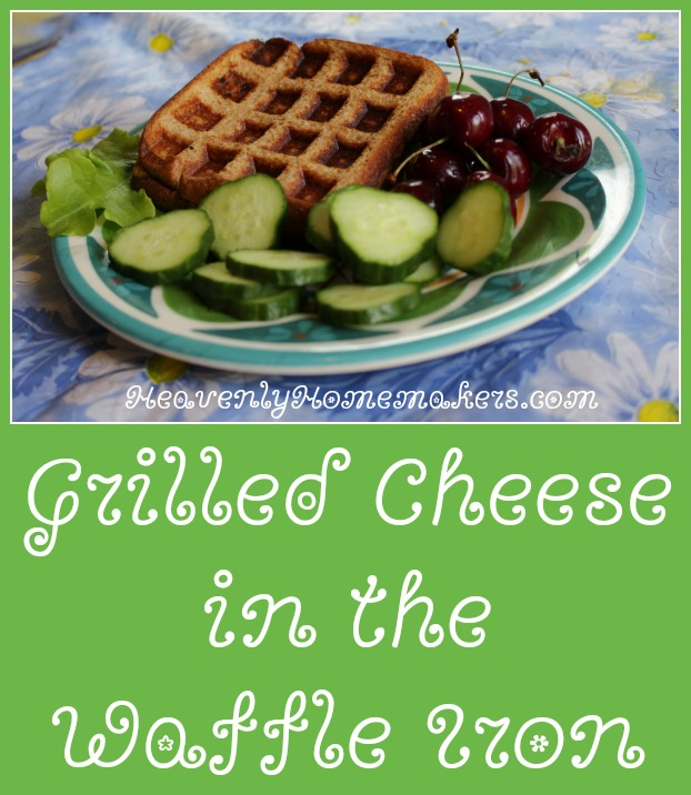 Grilled Cheese in the Waffle Iron