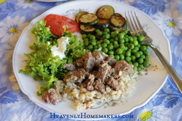 Slow cooker stew meat