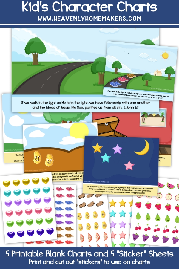 Kids' Character Charts