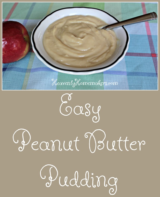 Easy Peanut Butter Pudding