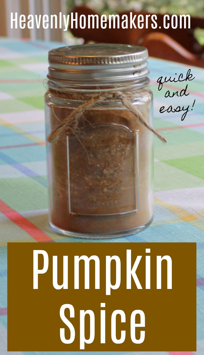 Quick and Easy Pumpkin Spice Mix