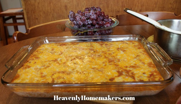 bacon cheeseburger casserole4