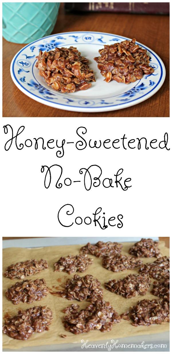 Honey Sweetened No Bake Cookies