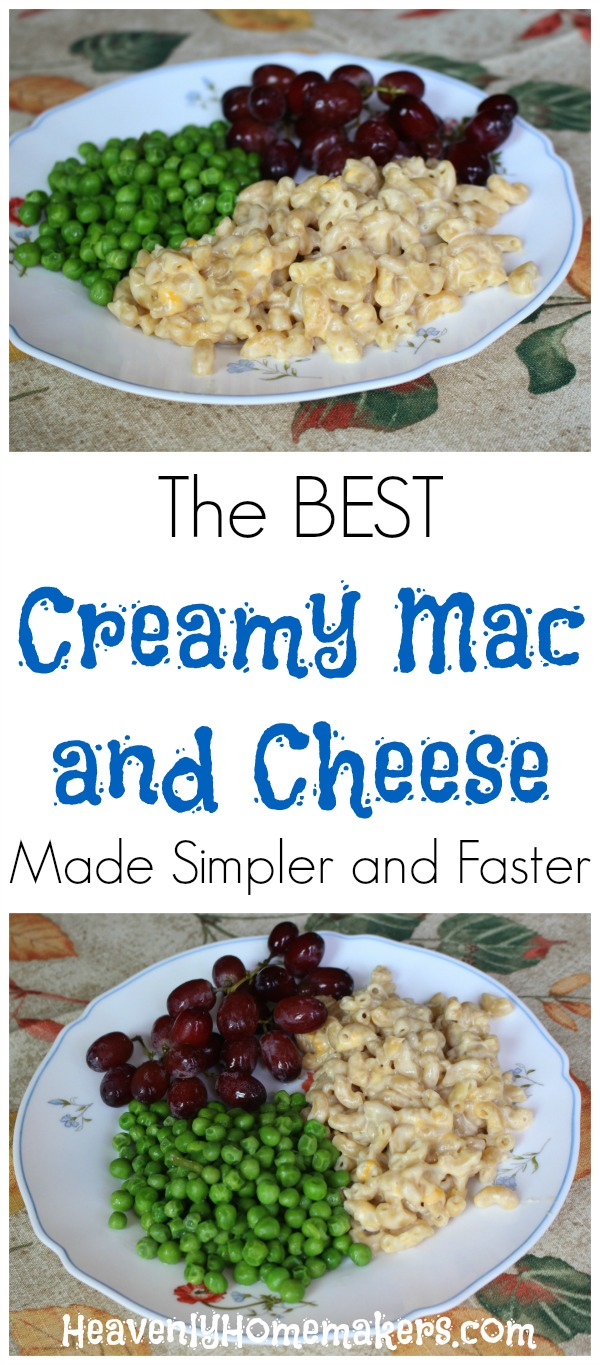 The BEST Creamy Mac and Cheese