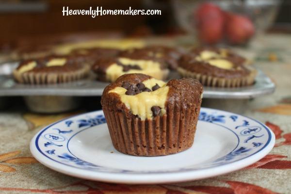 chocolate cheesecake muffin11