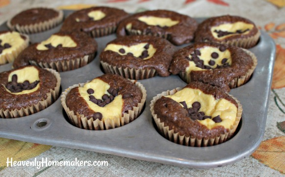 chocolate cheesecake muffin22