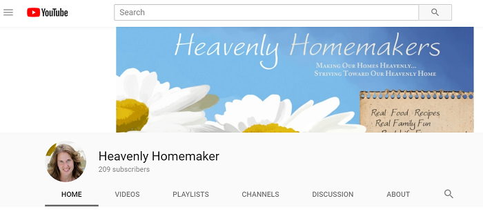 hhm youtube channel page