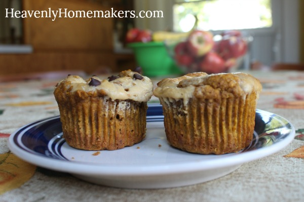 pumpkin cheeesecake muffin11