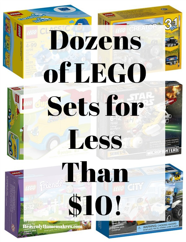 Dozens of LEGO Sets for Less than Ten