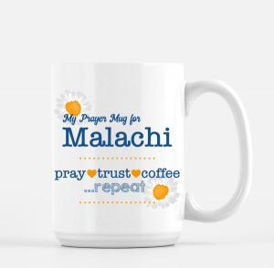 Customized Prayer Mug