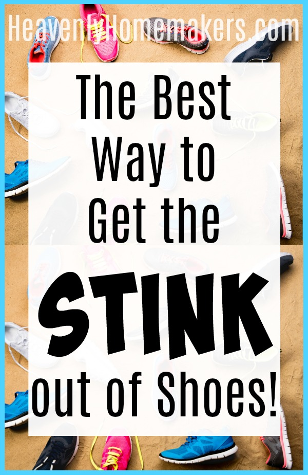 The Best Way to Get the STINK Out of Shoes