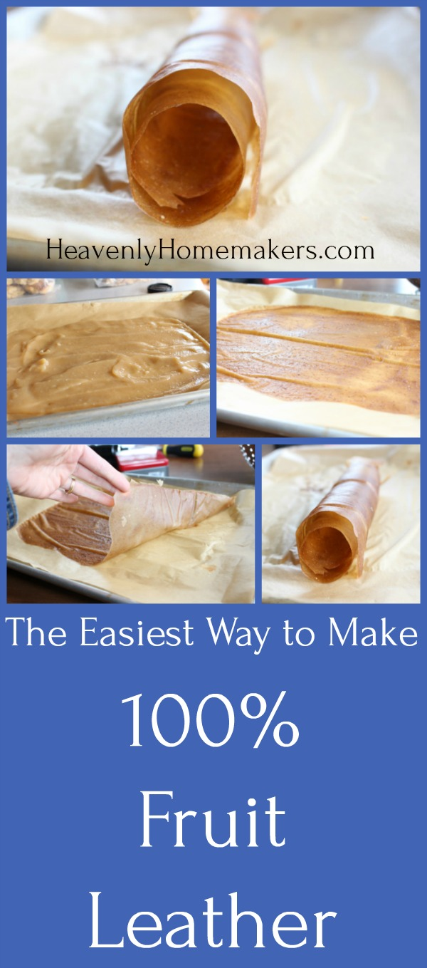The Easiest Way to Make 100 Fruit Leather