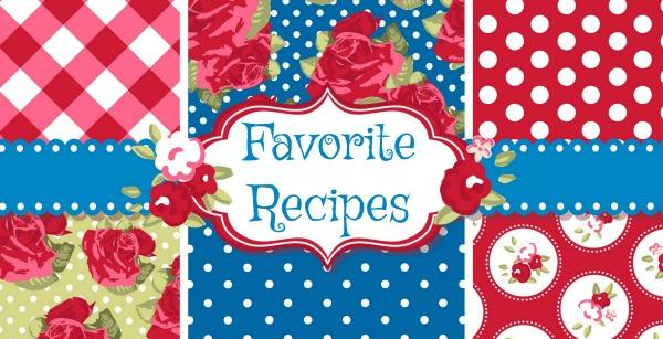 Favorite Recipes12