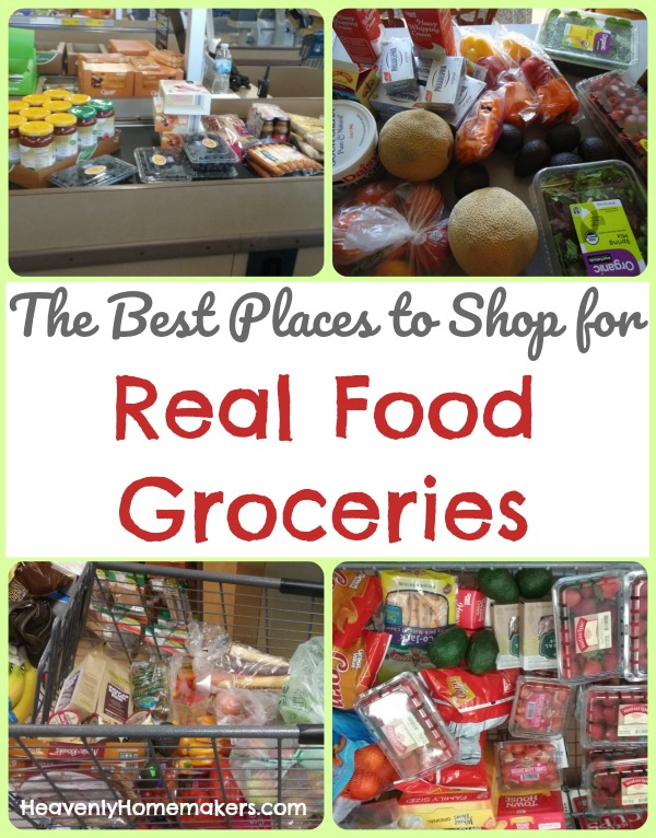 The Best Places to Shop for Real Food Groceries