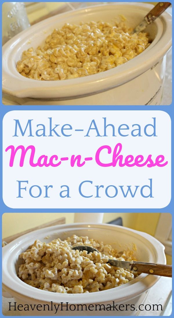 Make Ahead Easy Food For Crowd