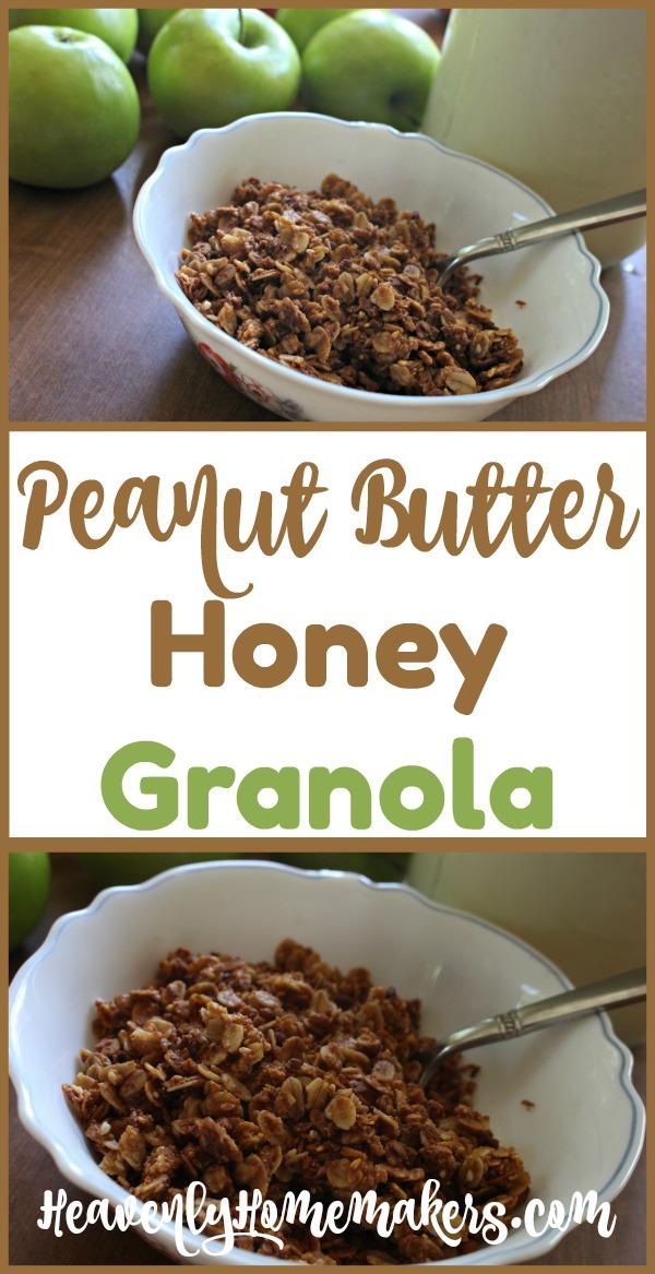 Easy Peanut Er Honey Granola