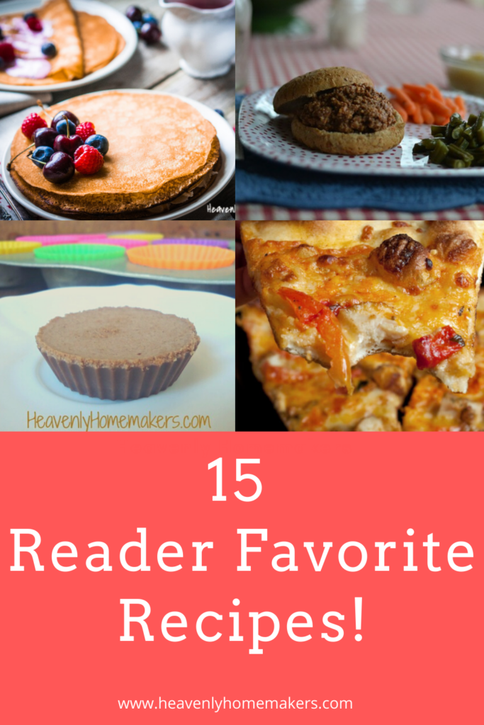 Here is a list of the most well-loved recipes on Heavenly Homemakers!