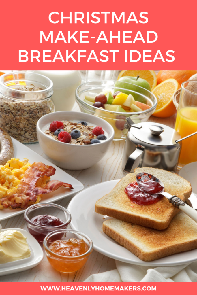 Christmas Make-Ahead Breakfast Ideas